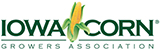 Logo of Iowa Corn Growers Association, a partner of the Regional Conservation Partnership Program with IAWA